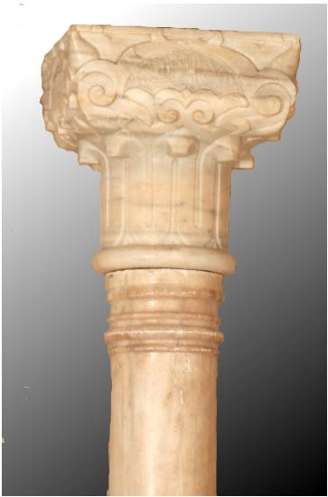The Nasrid column from the Alcaicería